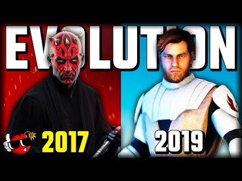Evolution Of Star Wars Battlefront 2 (2017 - 2019)