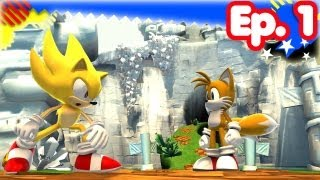 Super Sonic Generations - Ep.1 - Opening ~ Green Hill
