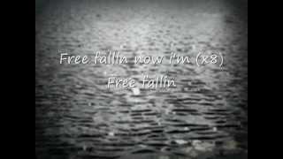 John Mayer Free Fallin lyrics and acoustic