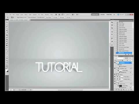 Tutorial | Photoshop | Studio Background