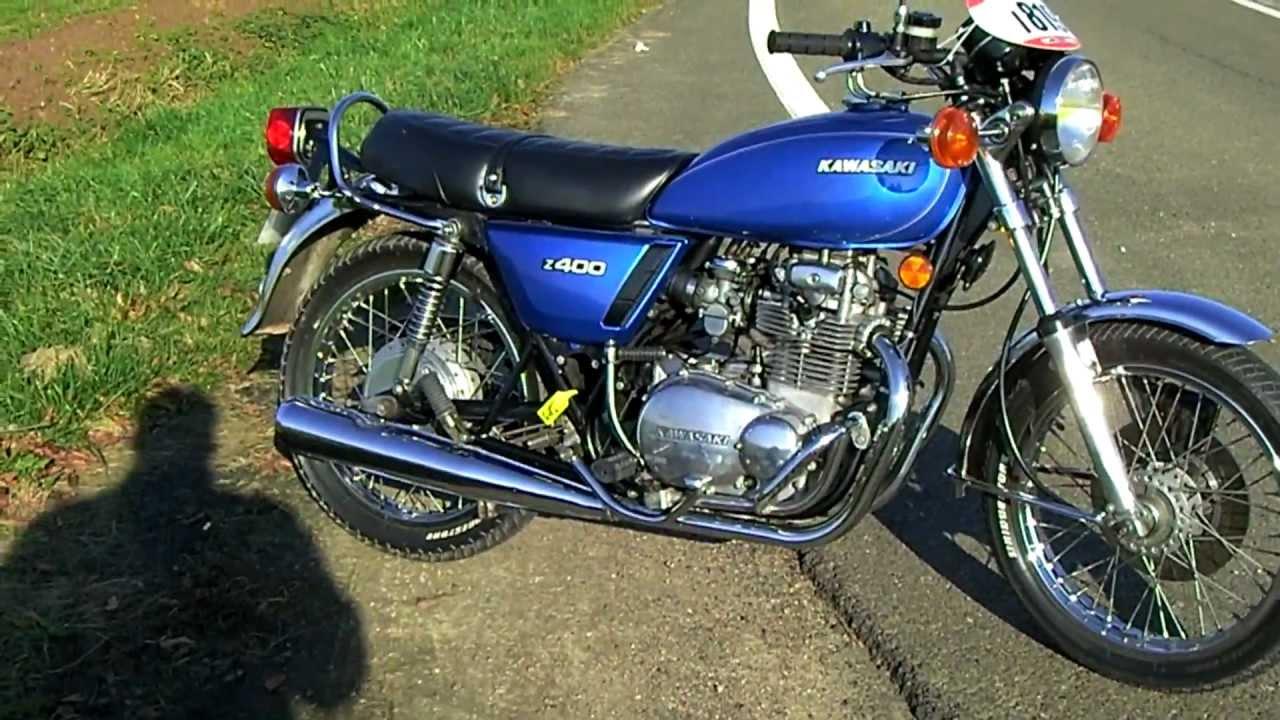 kawasaki kz400 d4 1977 - youtube