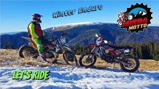 Download Video Epic Ride on Frozen Mountain ☄️ Winter Enduro ☃️ Poiana Marului MP3 3GP MP4