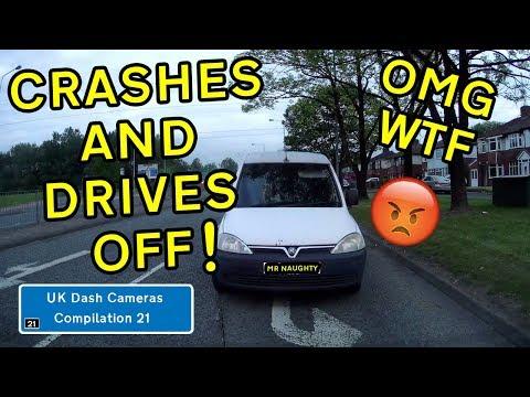 UK Dash Cameras - Compilation 21 - 2019 Bad Drivers, Crashes + Close Calls