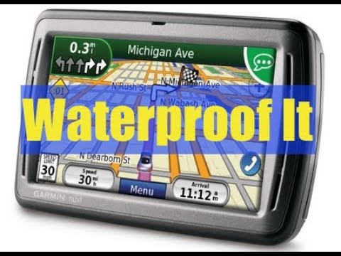 How to Waterproof GPS for a Motorcycle - Extreme Budget ✔️