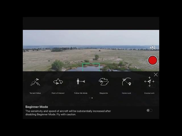 DJI GO App - Point of Interest Mode Spark/Phantom/Inspire/M600