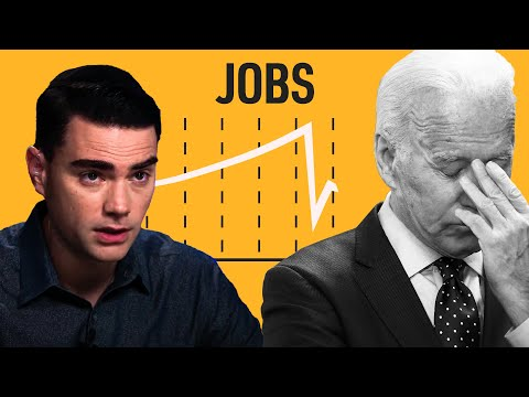 Shapiro On Biden's HUGE Jobs FAIL
