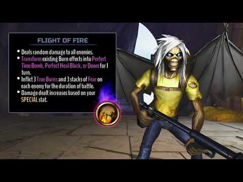 Iron Maiden: Legacy of the Beast - Flight of Icarus Eddie Strikes!