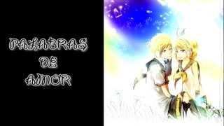 [Vocaloid3]Ai Kotoba - Rin & Len[Español]