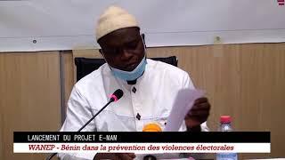 Présidentielle de 2021 au Bénin. Conférence de Presse de Wanep-Bénin
