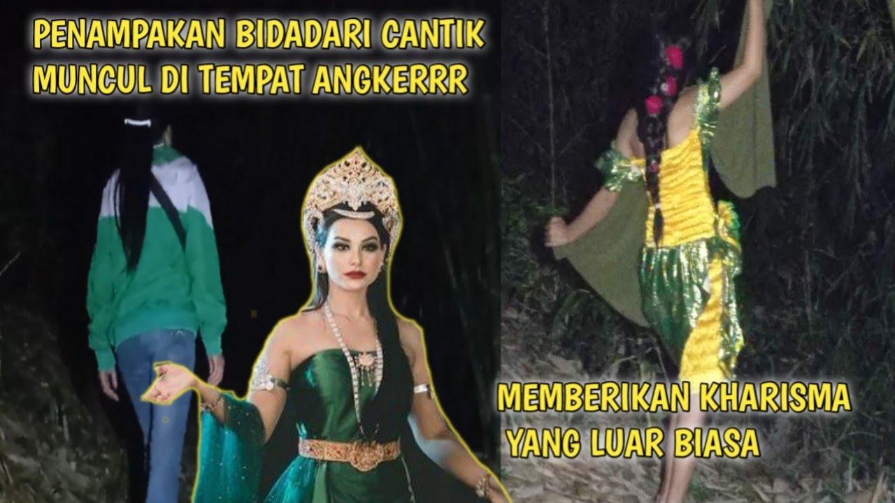 Download PENAMPAKAN BIDADARI CANTIK DITEMPAT ANGKER  Kitty Sunda Misteri