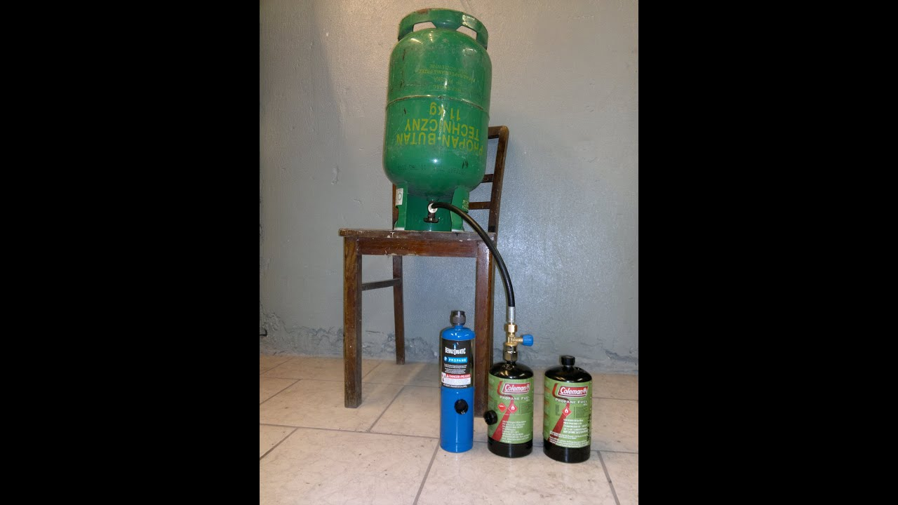 Usa Coleman Bernzomatic Propane Tank Youtube