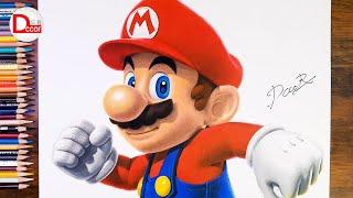 Drawing Super Mario | DĊCOR Drawing