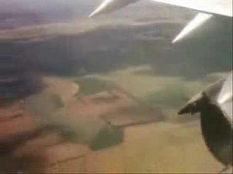 Johannesburg Takeoff ; Johannesburg from air
