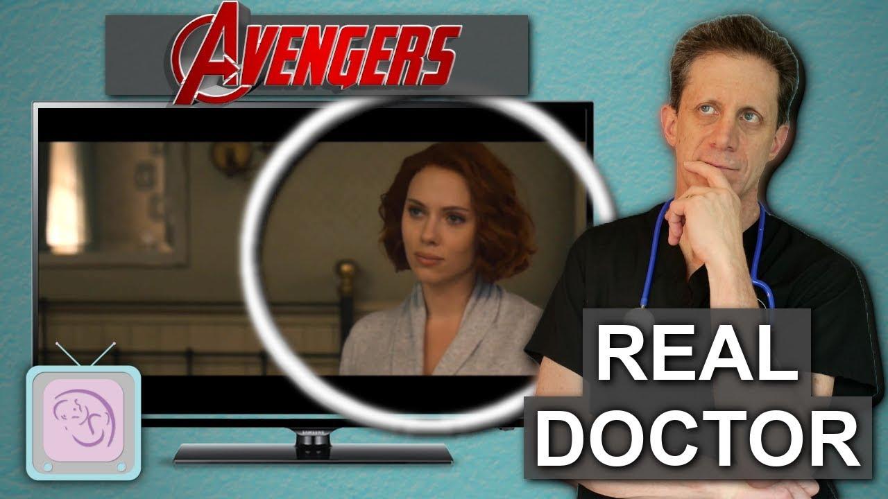 Avenger's Black Widow Sterilization   Is fertility possible? Real Doctor Analysis