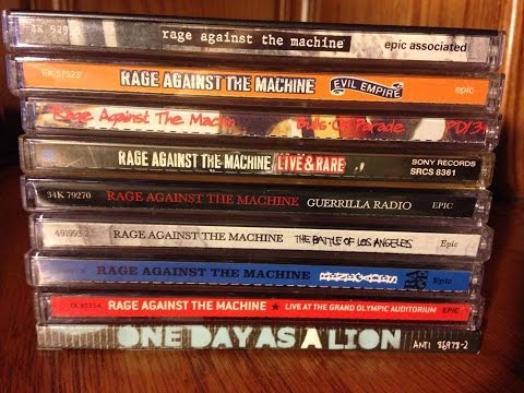 Rage Against the Machine Discography