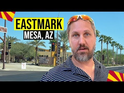 Mesa, Arizona: Eastmark (Mesa, AZ) | Moving / Living in Phoenix, Arizona Suburbs (Pt. 1)