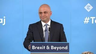 Sajid Javid's Tory leadership campaign speech