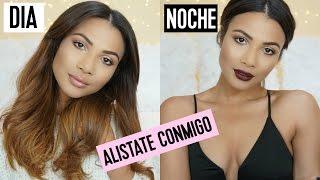 MAQUILLAJE Y OUTFIT DE DIA Y NOCHE / Get Ready with me | Doralys Britto