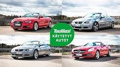 Käytetyt avoautot: Audi A5 Cabrio / BMW 330dA & 335iA Cabrio / M-B SLK200