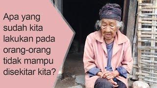 Kisah Nyata !!! Kalau Lapar Nenek Ini Hanya Bisa Menangis