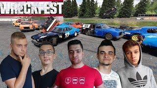 Wszyscy robią pakty przeciwko mnie! ale ja się nie dam! Wreckfest Multiplayer - Next Car Game
