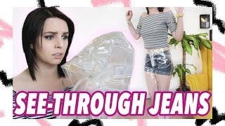 I Wore Clear Pants For a Day 👀👖| Style Challenge