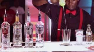 Smirnoff Cocktail - Midnight Blue