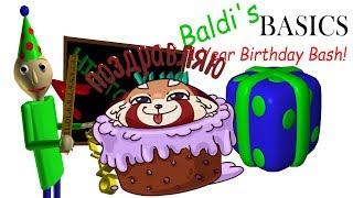 Я ПРИШЕЛ НА ДЕНЬ РОЖДЕНИЯ К УЧИТЕЛЮ БАЛДИ Baldi's Basics Birthday Bash
