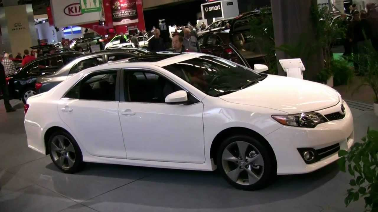 2012 toyota camry se exterior and interior at 2012 montreal auto show youtube