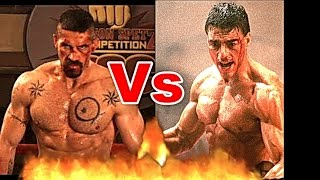 Jean-Claude Van Damme Vs. Yuri Boyka (Scott Adkins) Push Up | Farid Berlin
