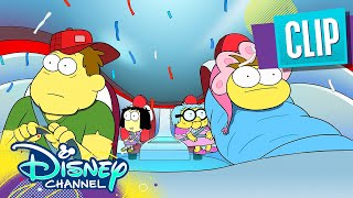 Adventures with Dr. Bubble Butt 🚗 | Big City Greens | Disney Channel