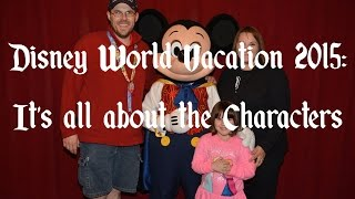 Disney Vacation: Character Interaction