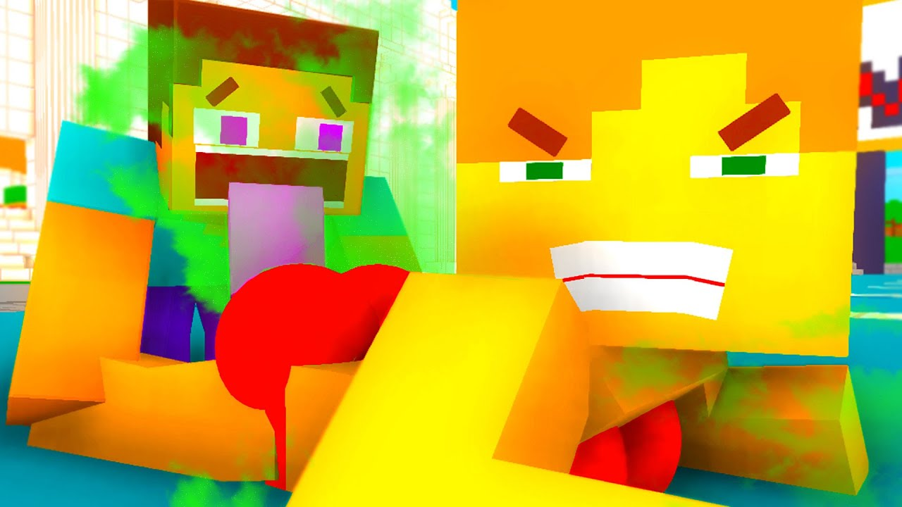 STEVE AND ALEX - ALEX'S FARTS OF DEATH - MINECRAFT ANIMATION [96]
