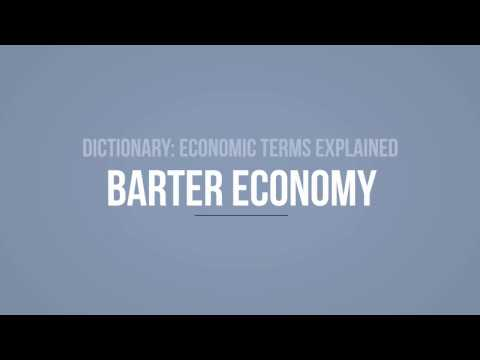 What is the Barter Economy?