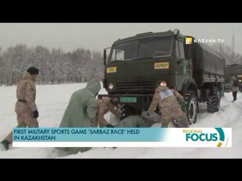 First military sports game 'Sаrbаz Rаce' held in Kazakhstan