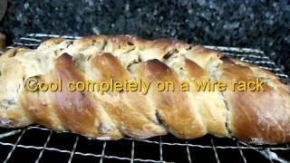 Weber Babyq No Knead Stollen Christmas Loaf Brioche Dough
