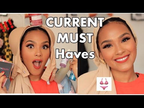 MY CURRENT MUST HAVES!!! SUMMER SKINCARE, BEAUTY AND BRAS!