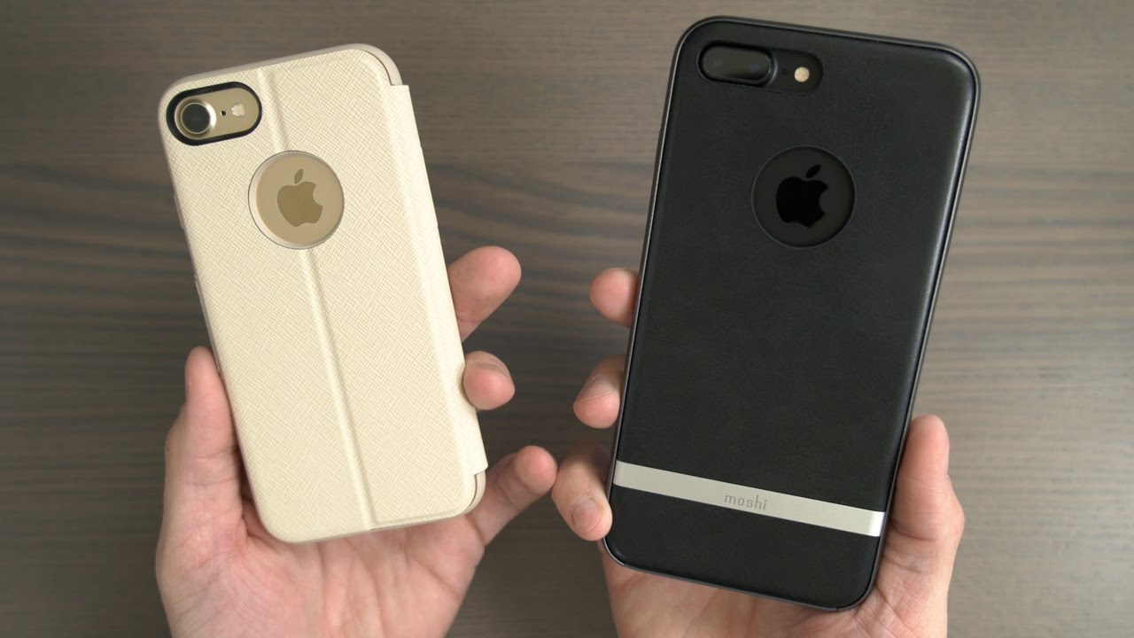 new styles c55a6 fe359 iPhone 7 & iPhone 7 Plus Moshi Sensecover and Moshi Napa Cases