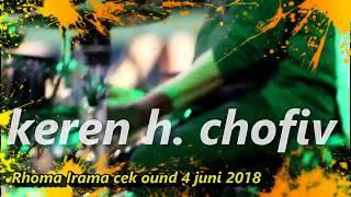 sekali lagi cek sound H. CHOFIV Juni 2018