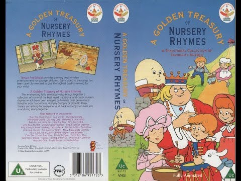 A Golden Treasury of Nursery Rhymes (1991 UK VHS)