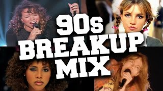 Breakup Songs of the 90s Mix 💔 Best Sad Love Songs of the 1990s Playlist