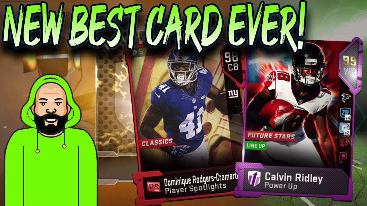 The New Best Card Ever Player Spotlight Madden 19 Ultimate Team Youtube