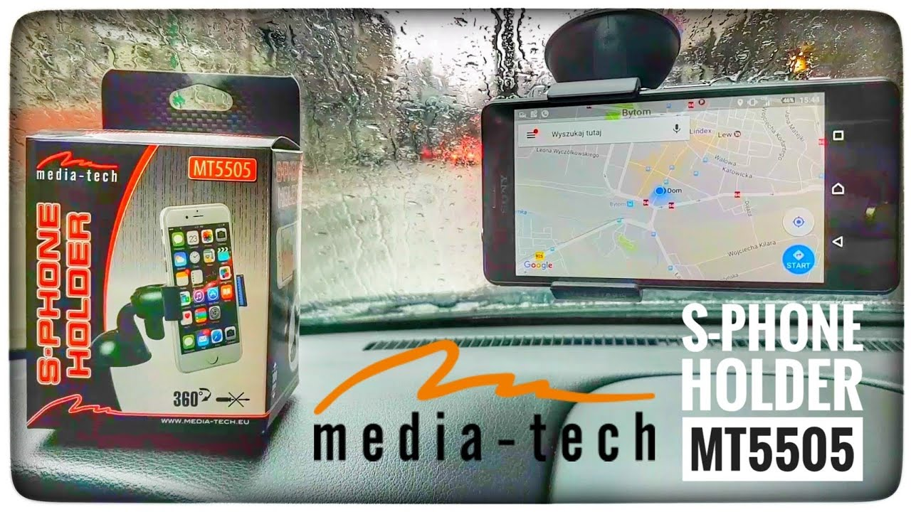 Uchwyt Media-Tech S-phone Holder MT5505 Recenzja test