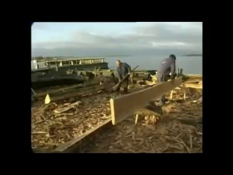 viking ship building