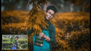 Adobe Lightroom : Dark Outdoor  Portrait Editing Android