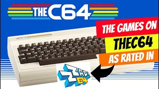 THEC64 What are the Preloaded Games? as Reviewed by Zzap!64