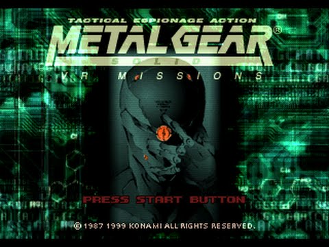 PSX Longplay [288] Metal Gear Solid: VR Missions