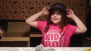 Zoey opens Kidz Bop 2018 Merchandise Surprise Box
