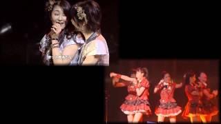 上左:2014年12月17日 スマイレージ ライブツアー2014秋 ~FULL CHARGE~F...