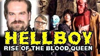 HELLBOY RISE OF THE BLOOD QUEEN 2018 - REBOOT SIN RON PERLMAN NI GUILLERMO DEL TORO - WTF!